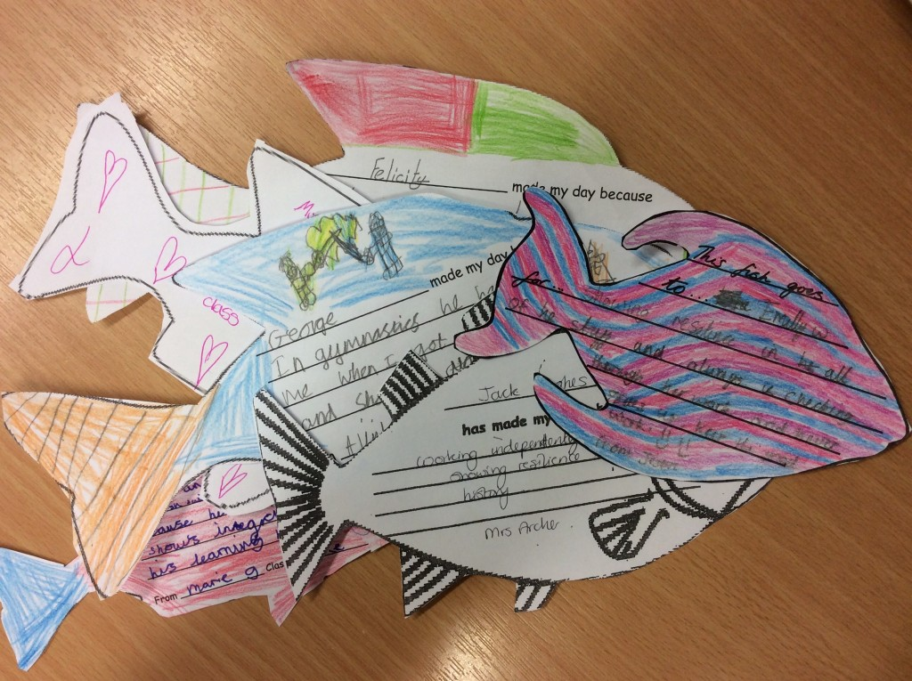 Fish philosophy lawford mead primary and nursery school for Best time to fish tomorrow