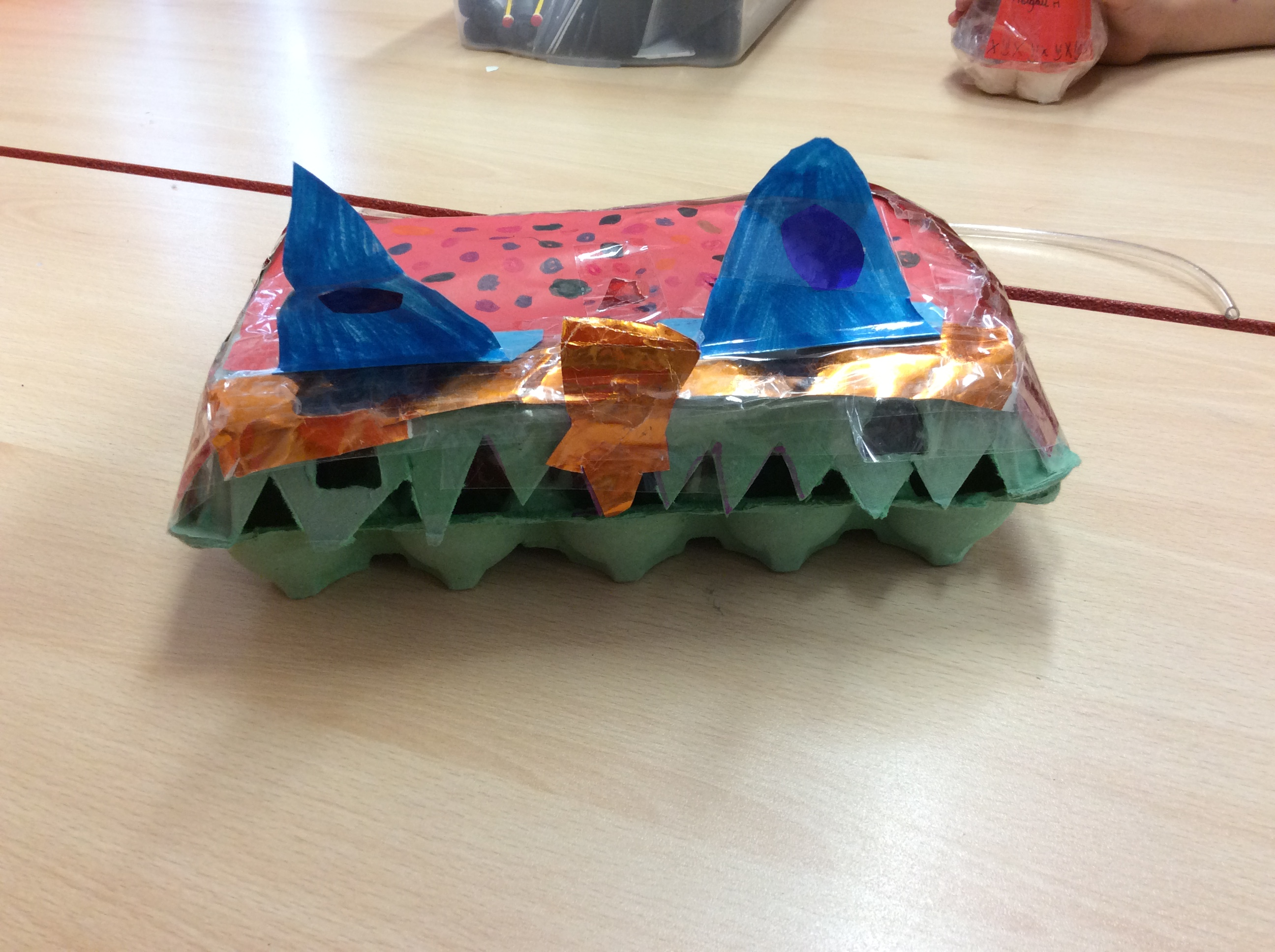 Egg box monsters year 3 for Design your own egg boxes