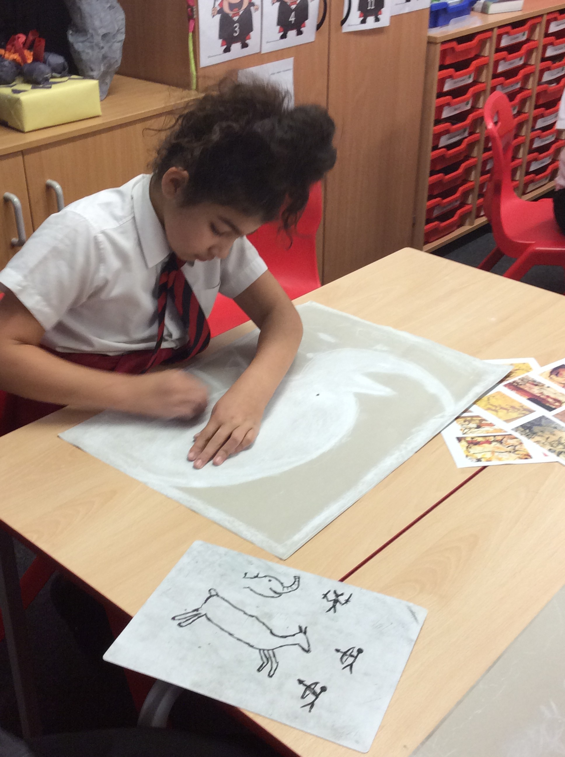Year 4\'s fantastic Stone Age work! | Year 4