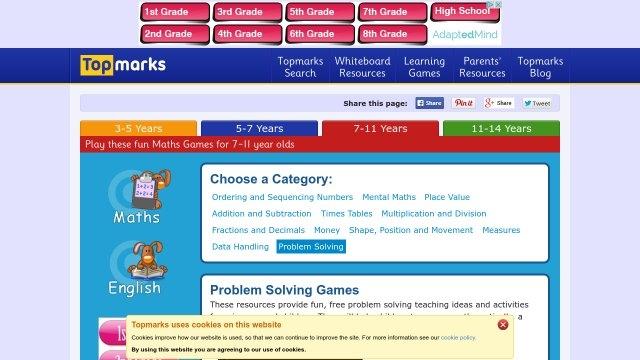 Problem Solving Online Games